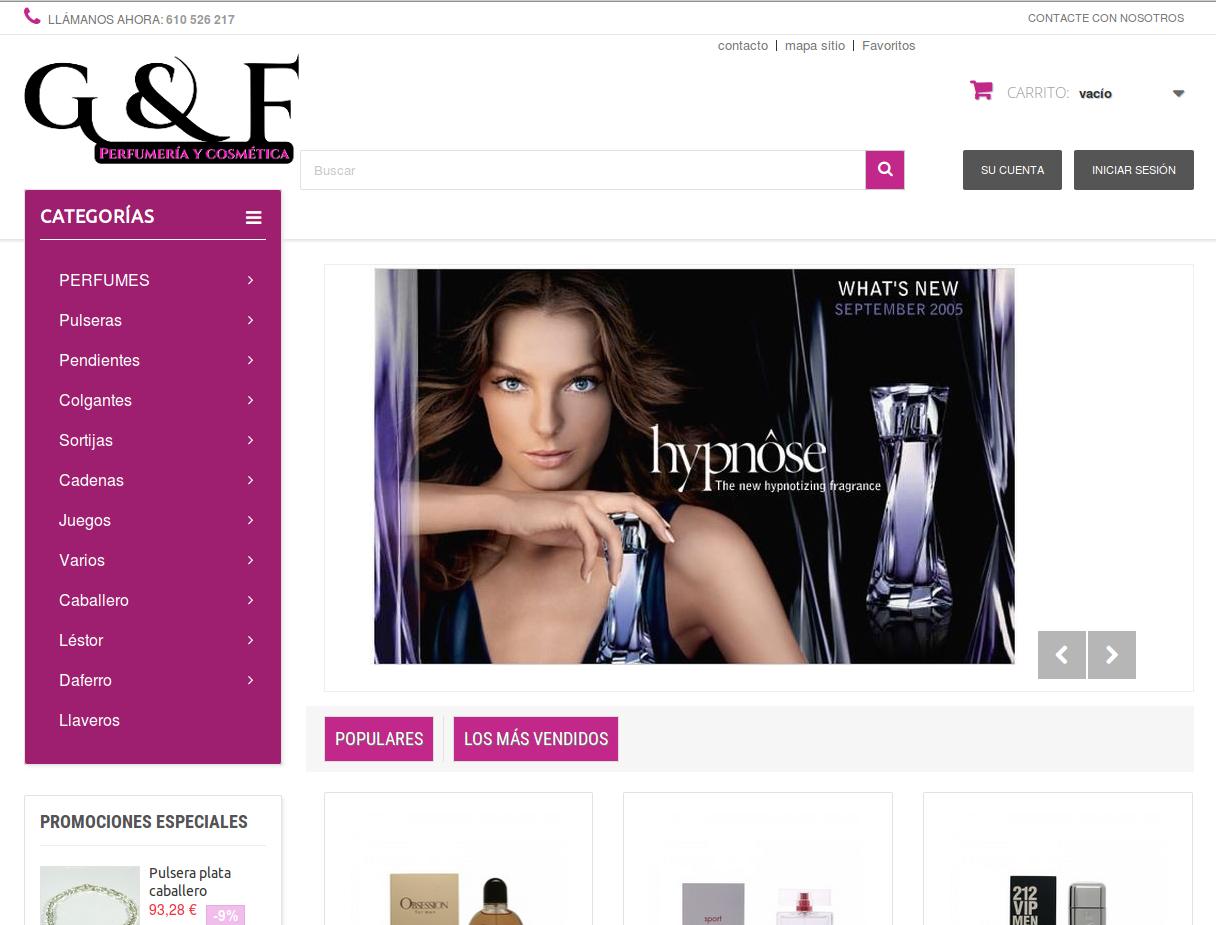 Perfumeria Glamour Fashion